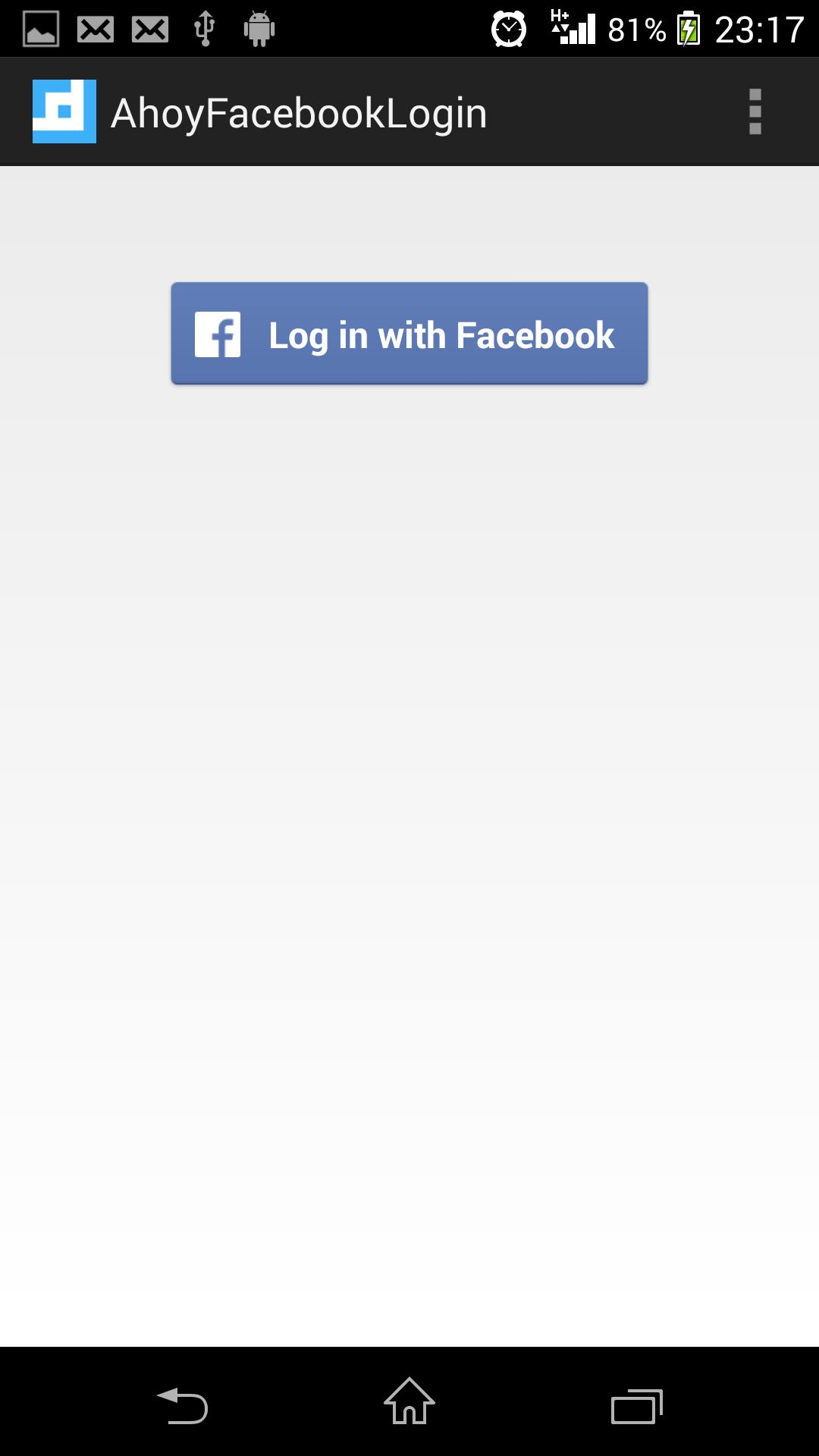 Ahoy Facebook