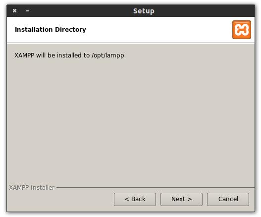 Install XAMPP3