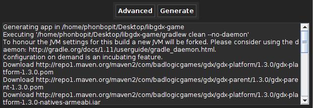 libgdx downloading