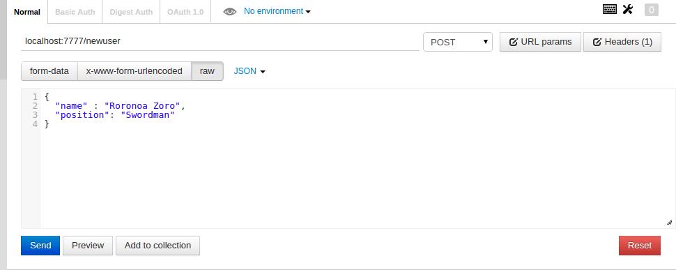 Test POST Method