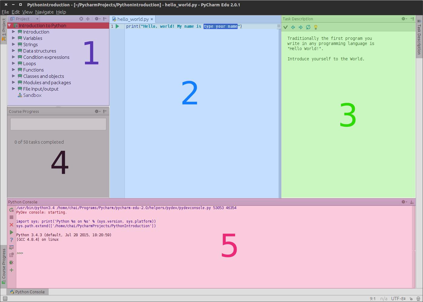 PyCharm Window