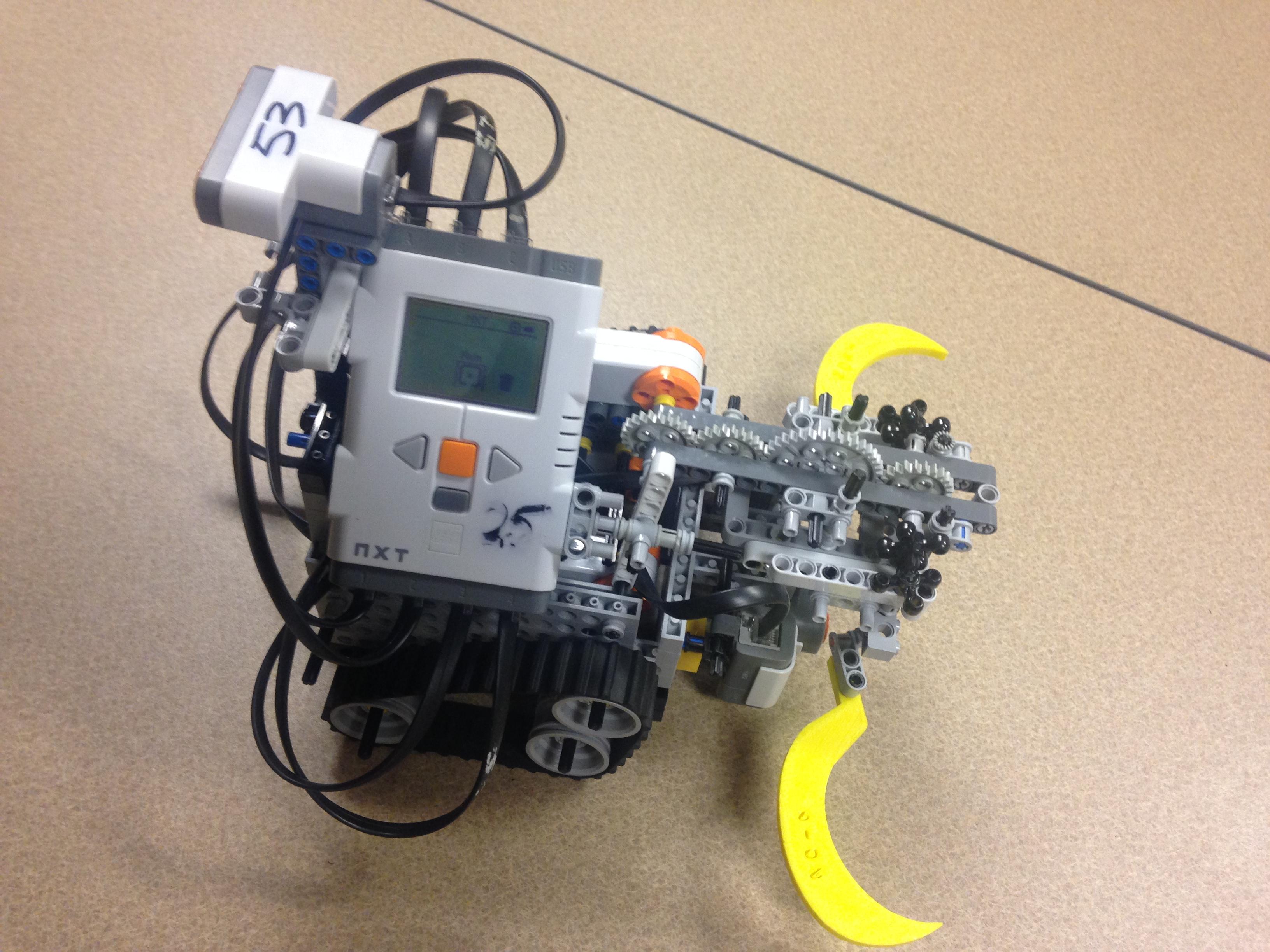 GitHub - DevanshV/LEGO-Grab-and-Retrieve-Robot: C-Based