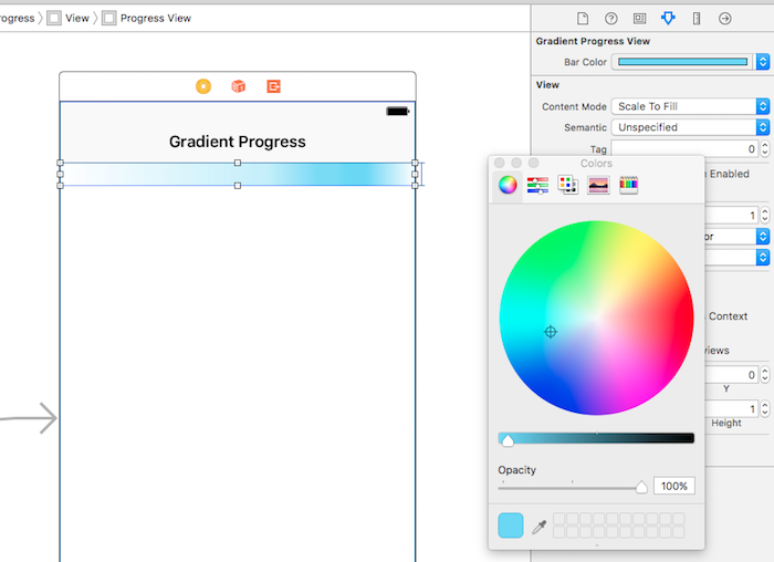 Demo color picker