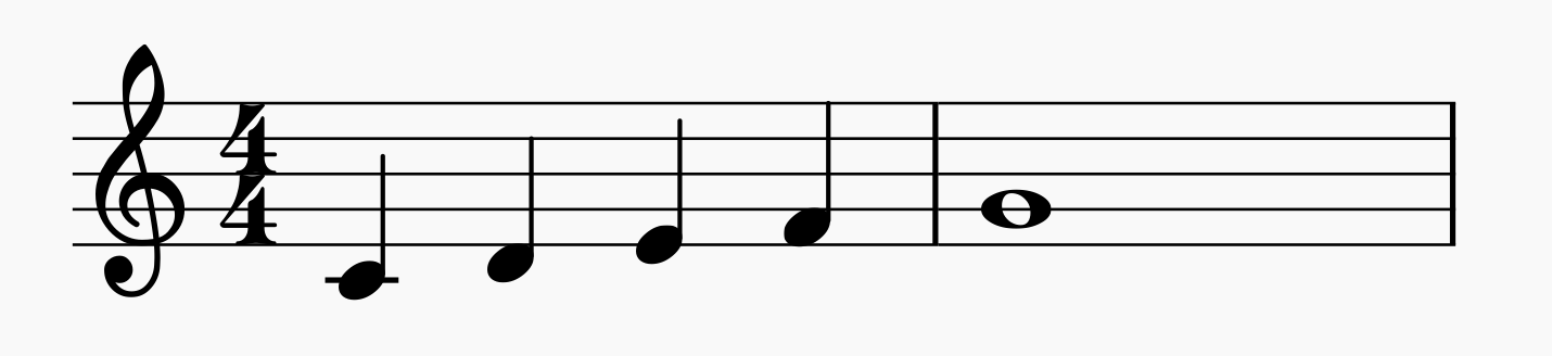 First composition