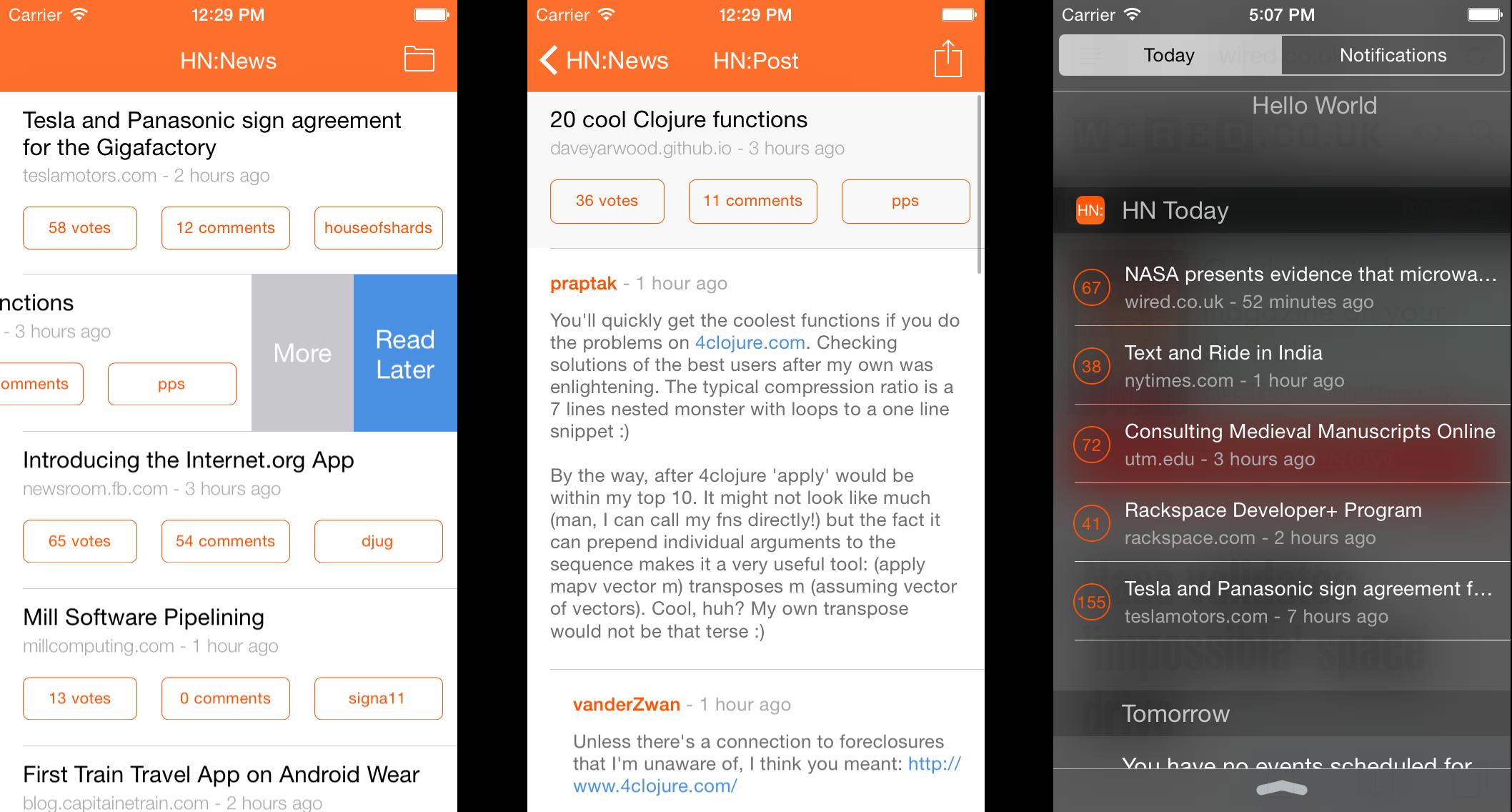 GitHub - Dimillian/SwiftHN: A Hacker News reader in Swift