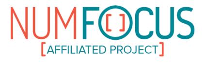 NumFOCUS Affiliated Project