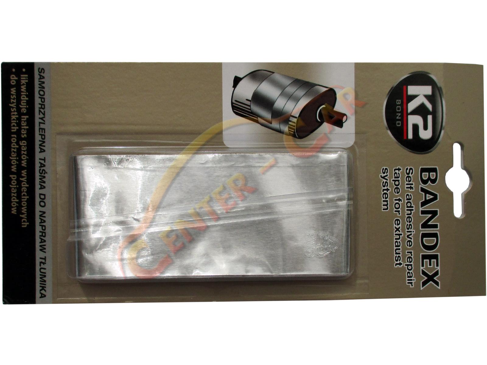 original k2 bandex reparaturband auspuff reparatur klebeband 1m ebay. Black Bedroom Furniture Sets. Home Design Ideas