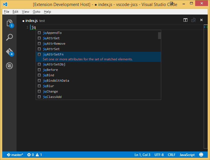 jQuery Code Snippets - Visual Studio Marketplace