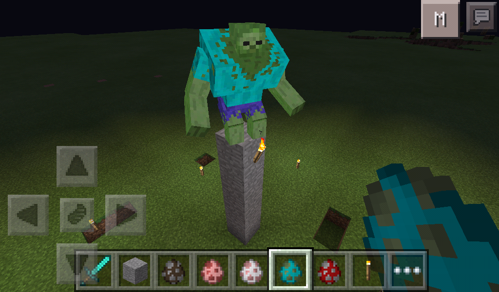 Mutant Zombie in MCPE! - MCPE: WIP Mods / Tools - MCPE: Mods ...
