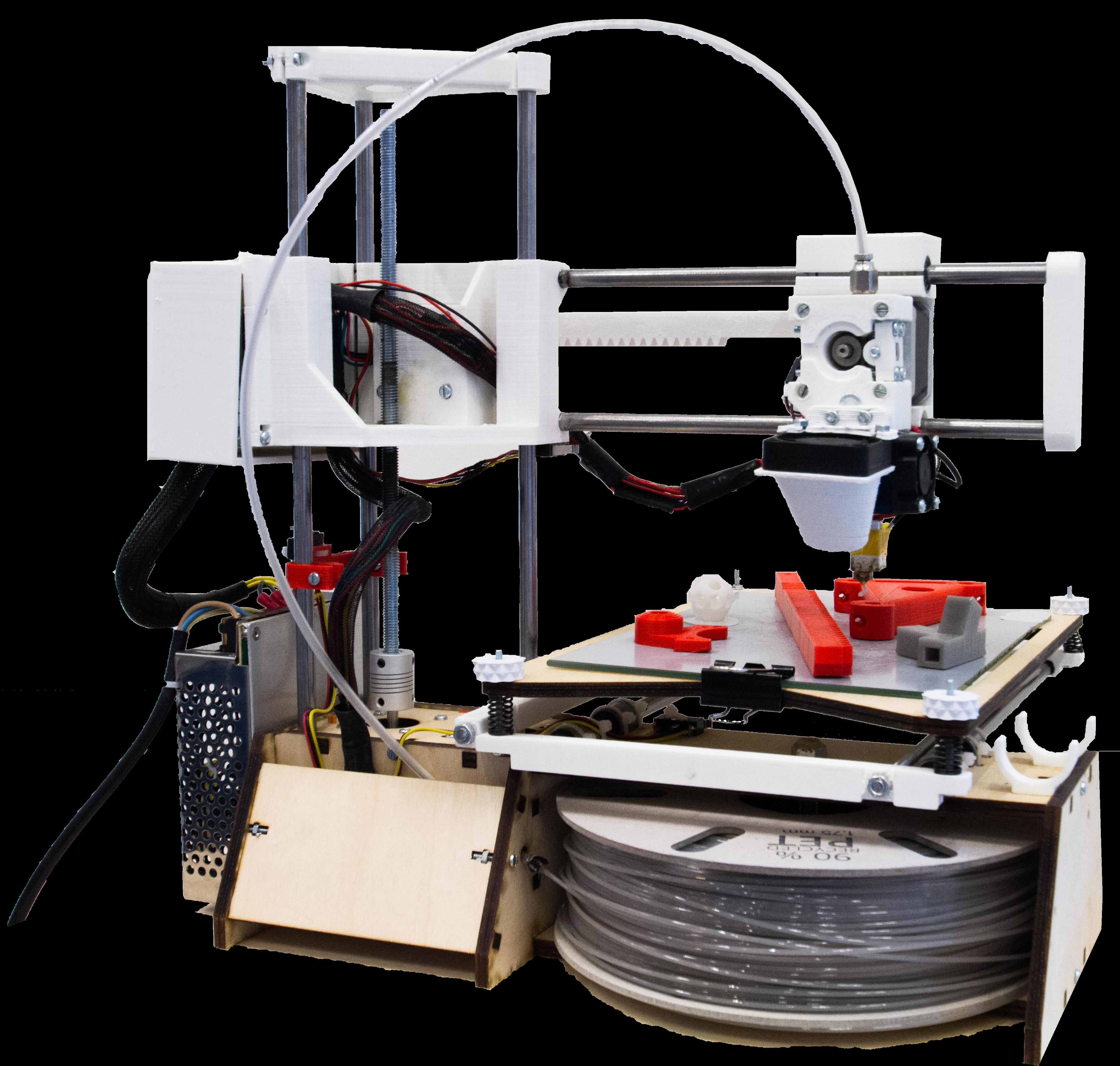 RepRap Leeuwenhoek 3D Printer