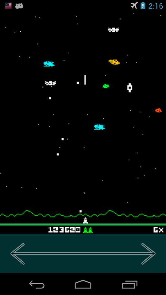 AstroSmash Android Screen