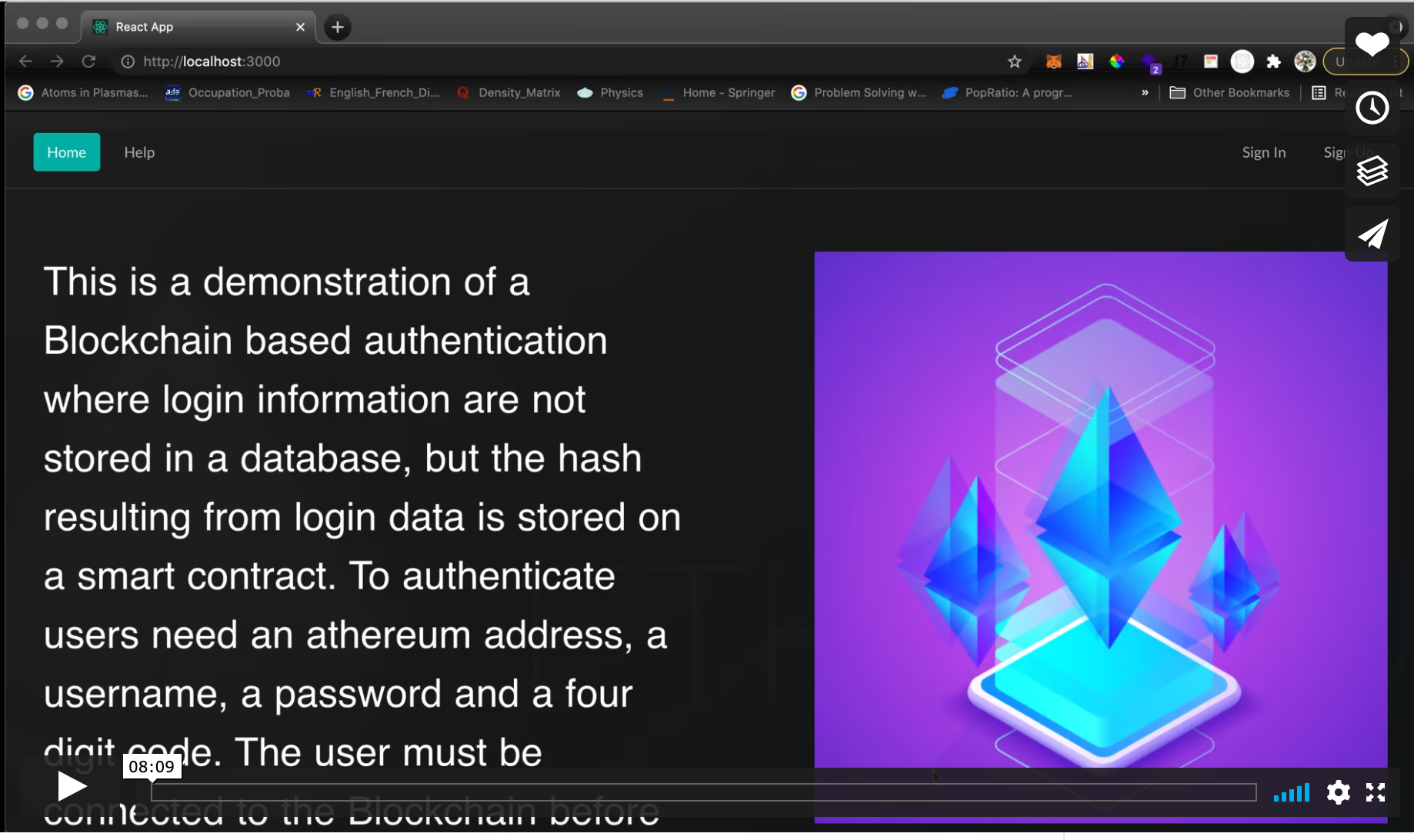 Blockchain-based Authentication - 基于<a href=