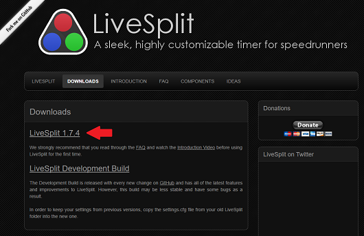github  livesplit remote android  control