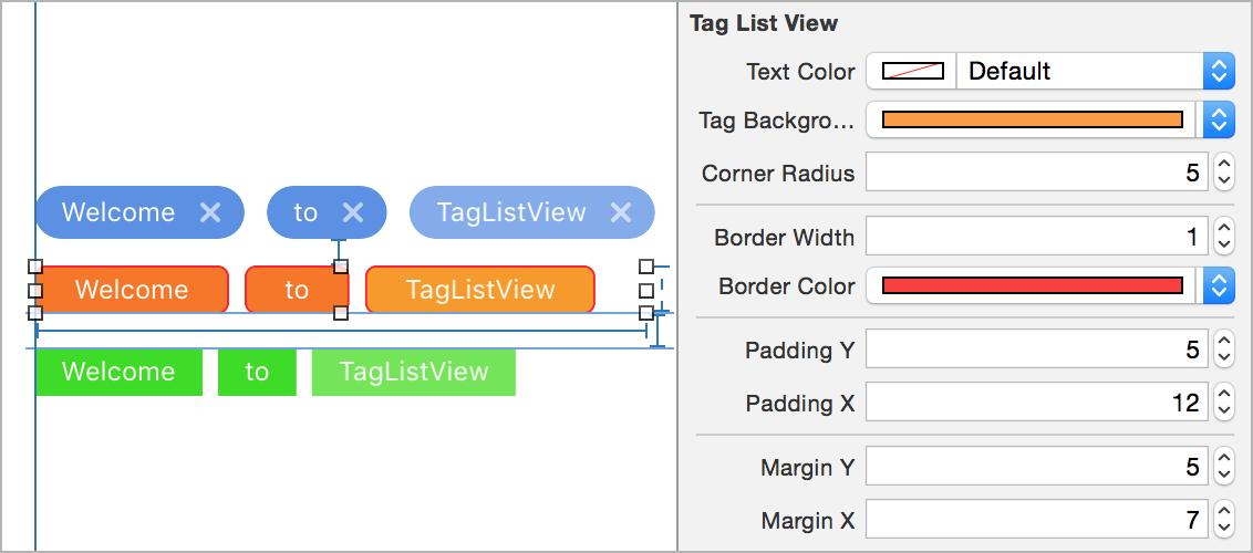 TagListView by ElaWorkshop