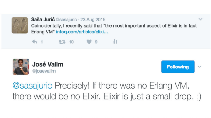 Best part of Elixir tweet