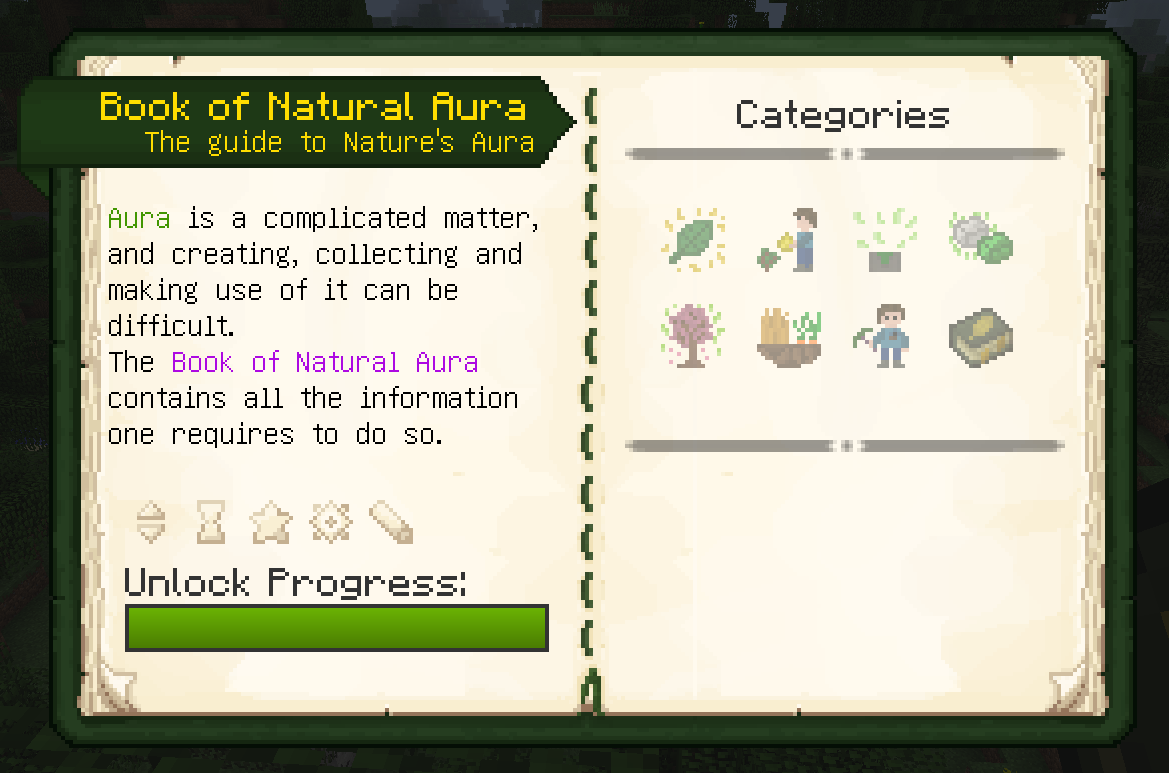 The front page of the Book of Natural Aura