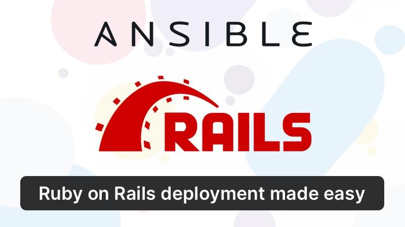 Ansible Rails Promo Image