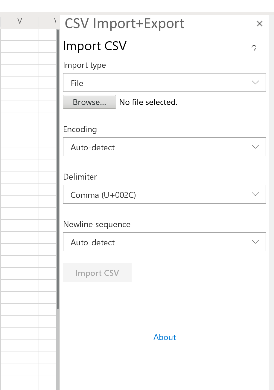 GitHub - Emurasoft/excel-csv-import: An Excel add-in for