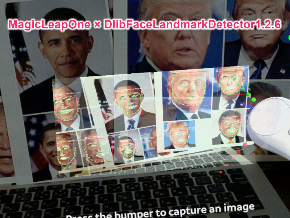 Magic Leap With Dlib Face Landmark Detector Example - UnityList