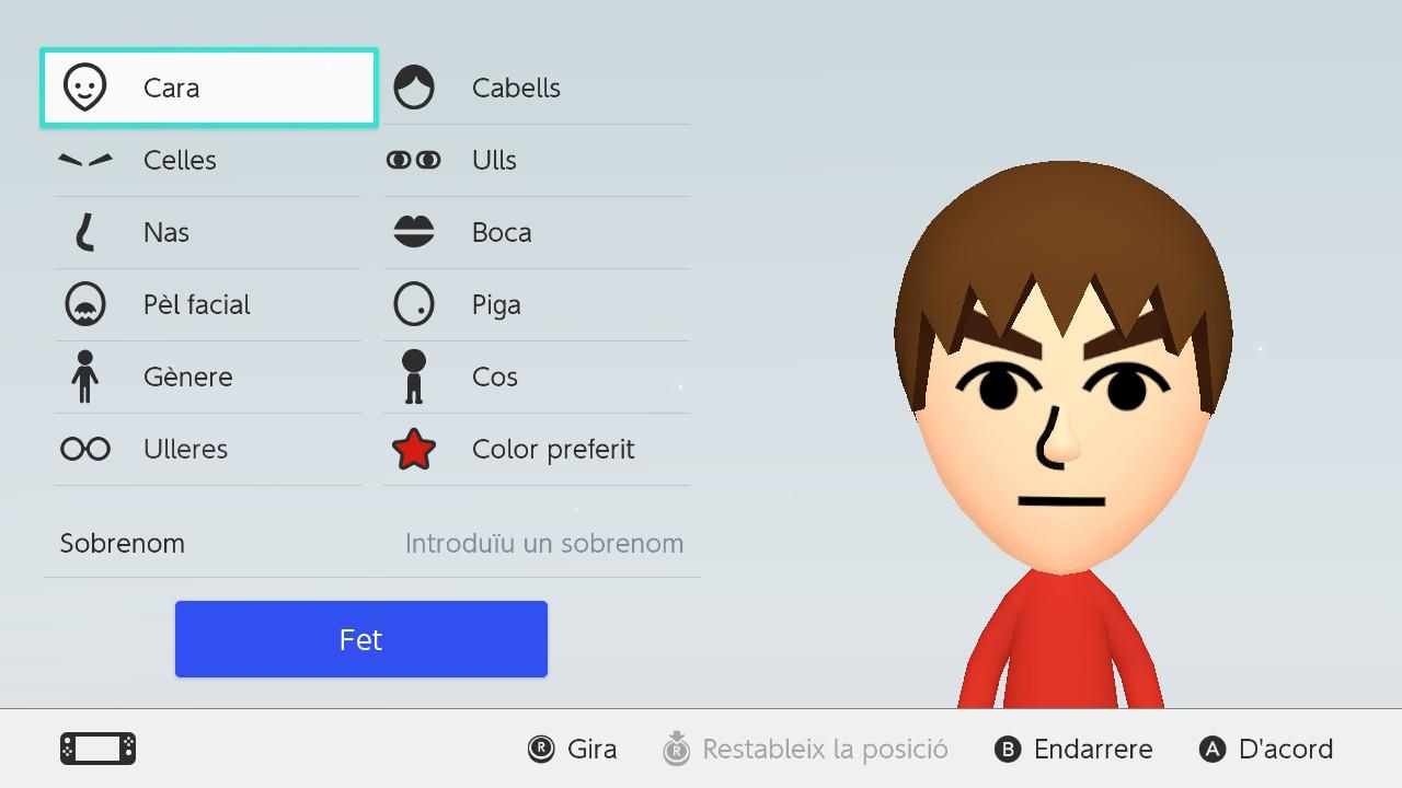 Imatge de la interfície en català 5