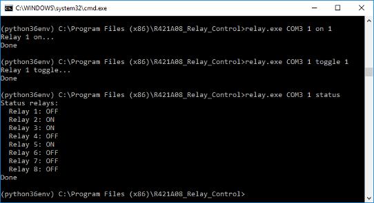 Screenshot MODBUS GUI