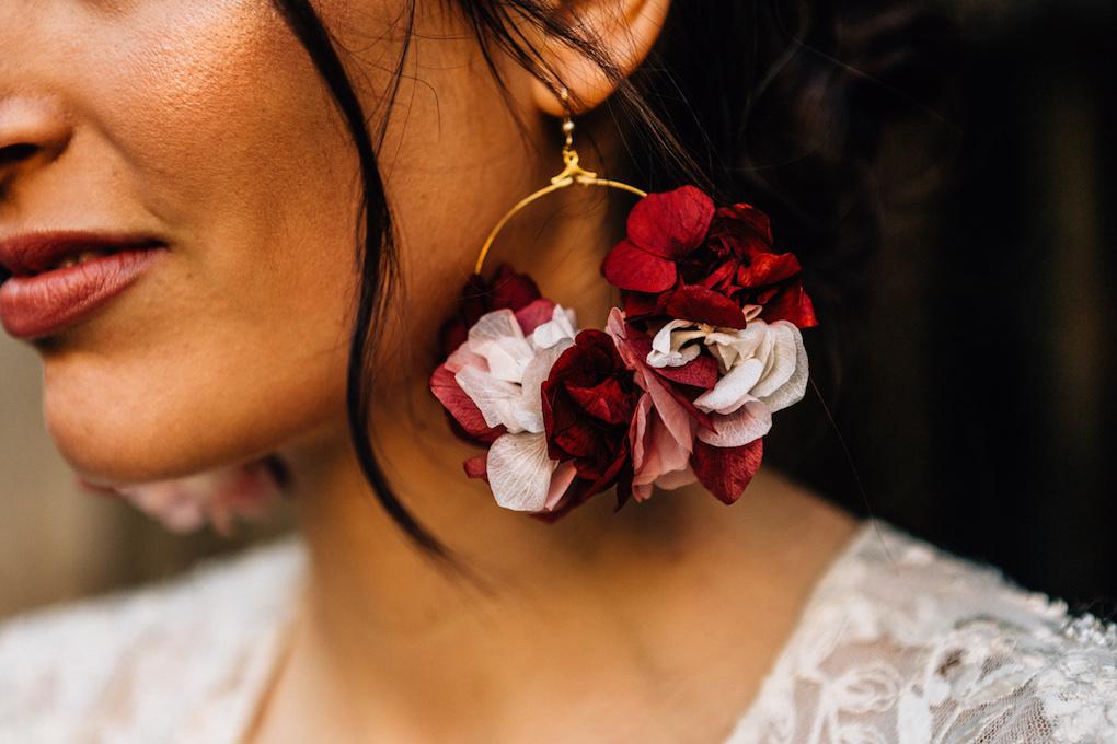 boucles doreille esmeralda