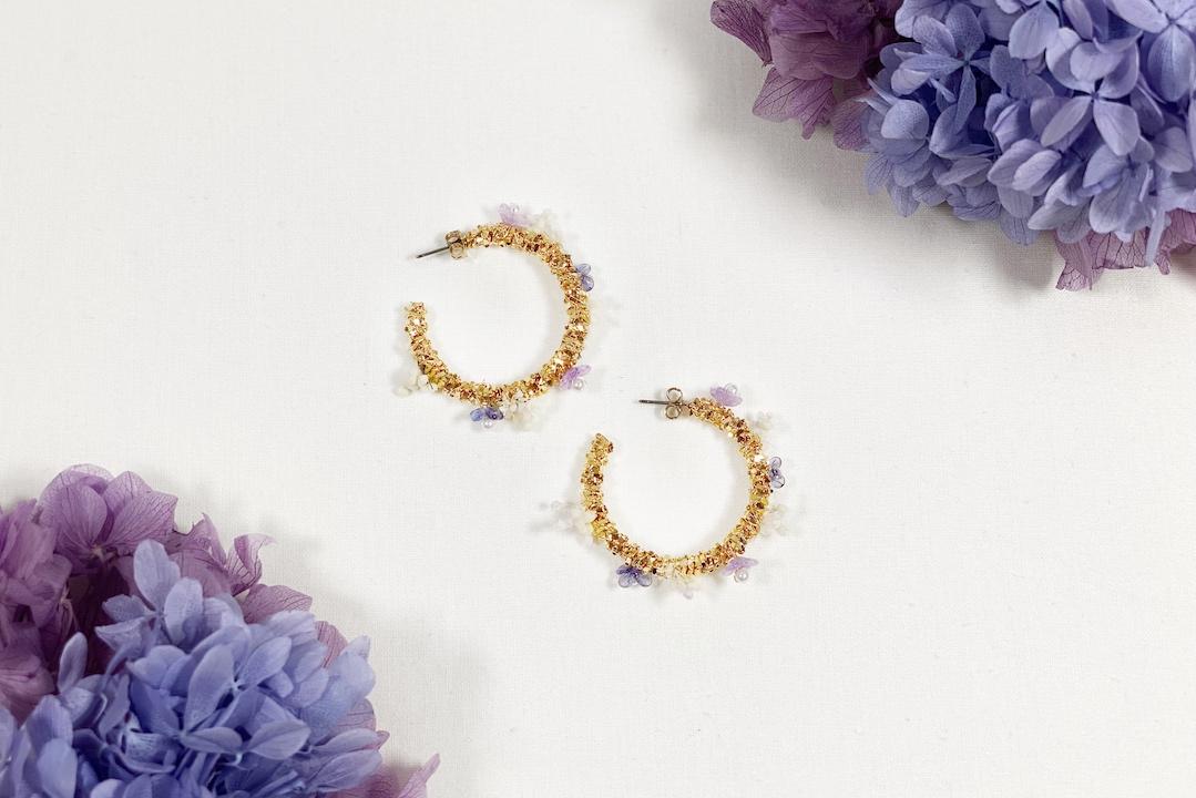 boucles doreille liliana