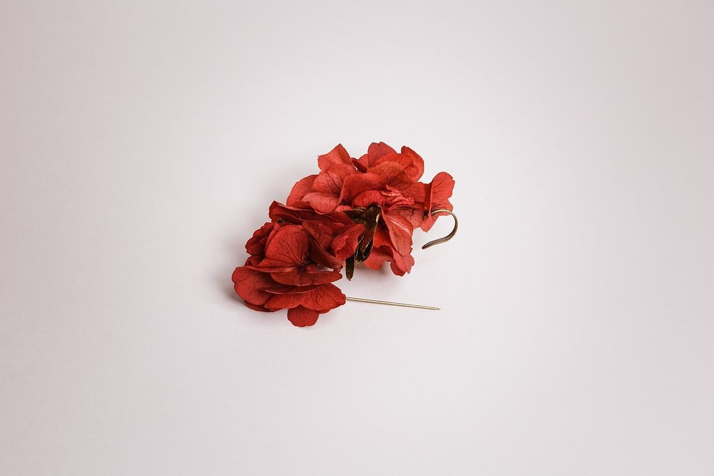 Broche lila 1