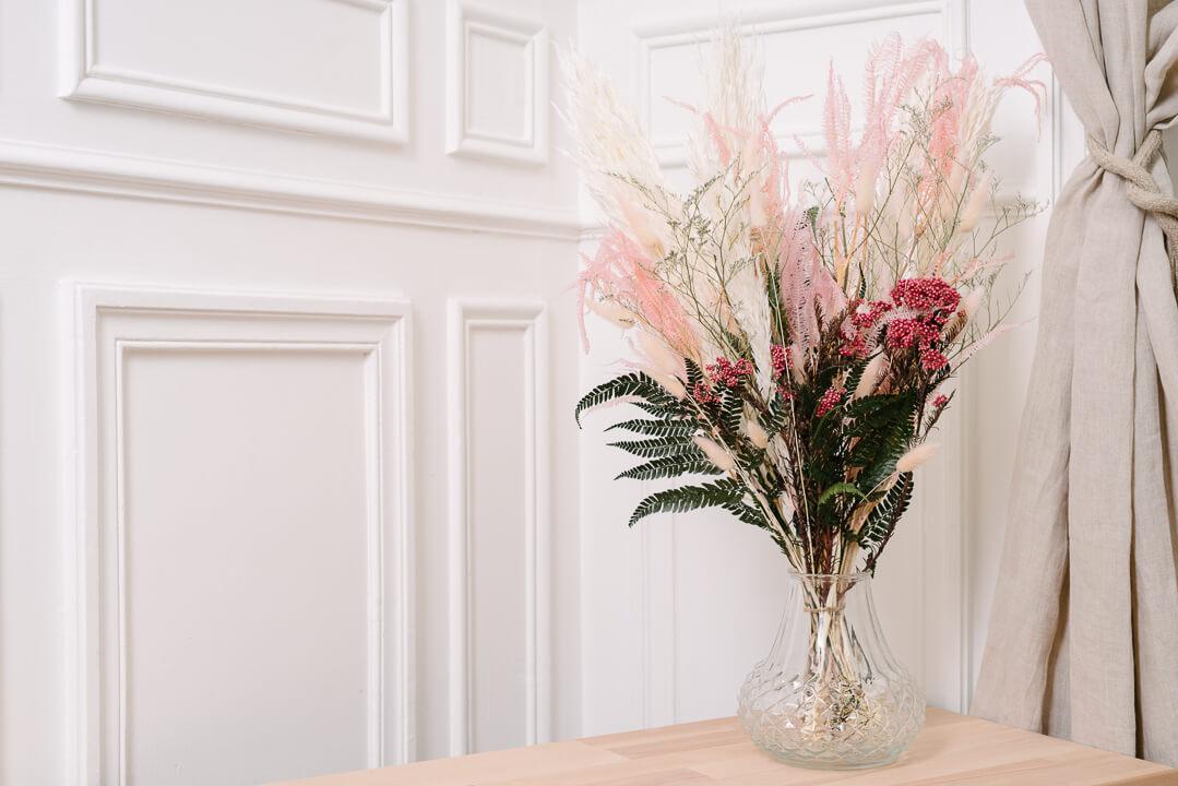 grand bouquet minorque vase