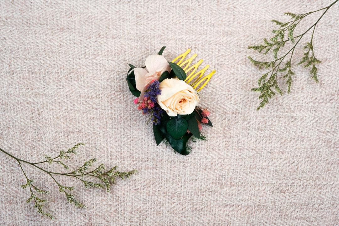 mini peigne roselia