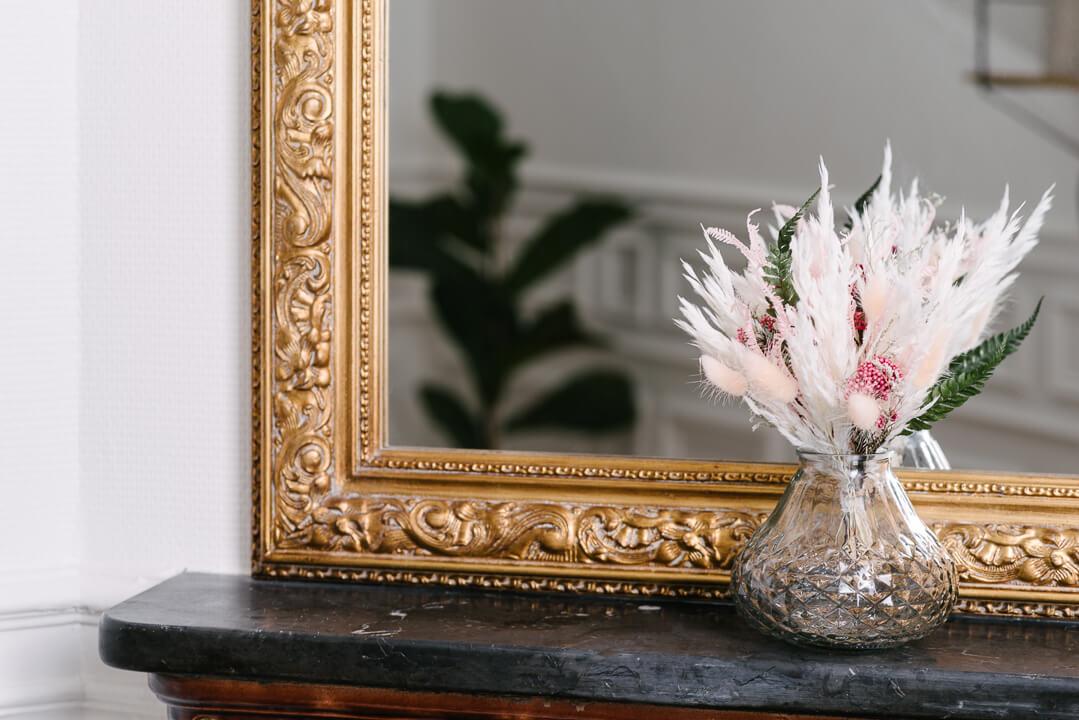 petit bouquet minorque vase