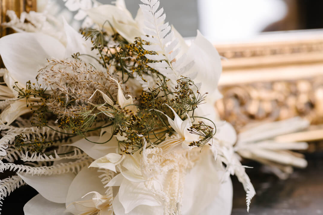 petit bouquet santorin vase