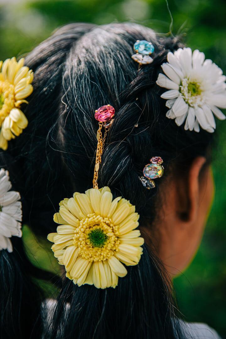 Husmniors Corsage de fleur d/érable accessoire de manteau de broches de cloche de No/ël pour lanniversaire,Sapin de No/ël