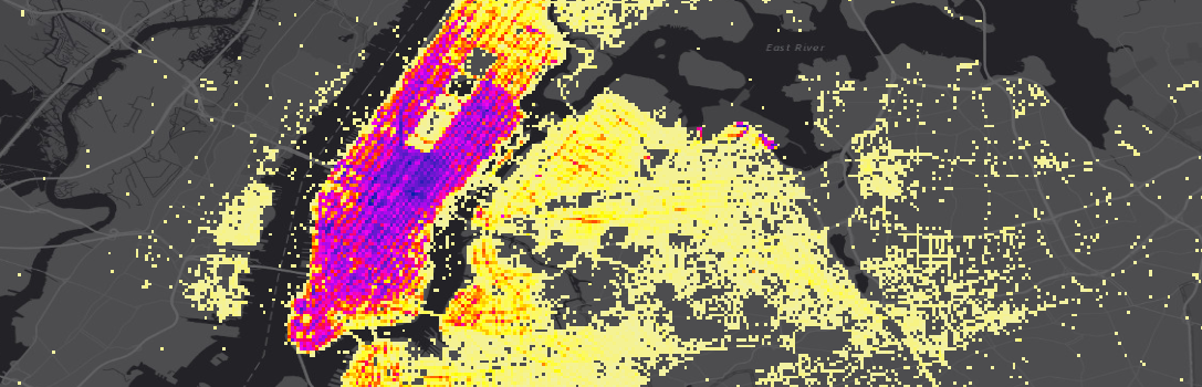 2013 NYC Taxi data aggregated