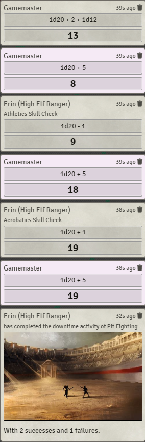 Ethck's 5e Downtime Tracking - Ethck的5e停机跟踪
