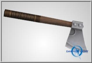 Briton hand axe