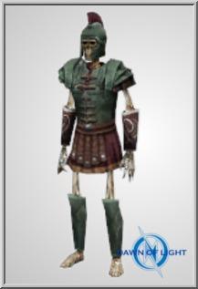 Robed Roman Dead