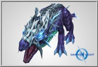 Wingless Baby Glimmer Dragon