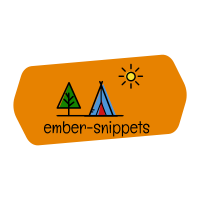 Ember Snippets Logo