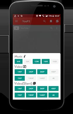 GitHub - ExploiTR/YouP3: Android app for downloading media from
