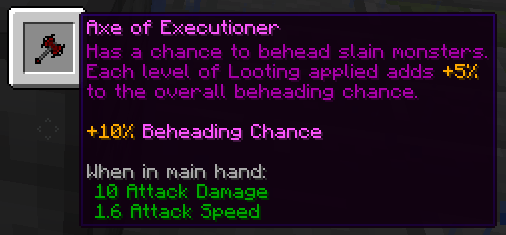 Axe of Executioner