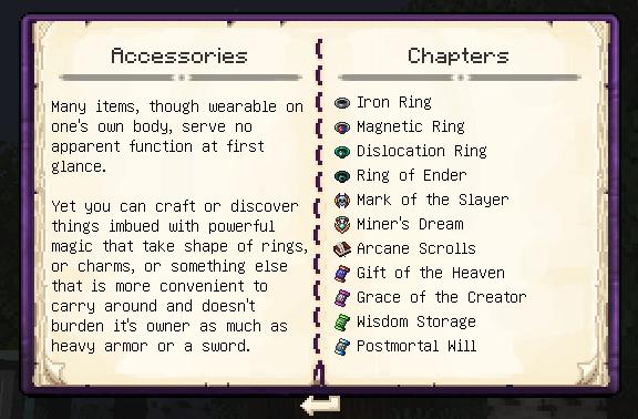 Enigmatinomicon: Accessories Category