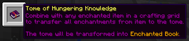 Tome of Hungering Knowledge
