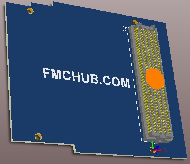 FMC single width template with regions 1, 2, and 3