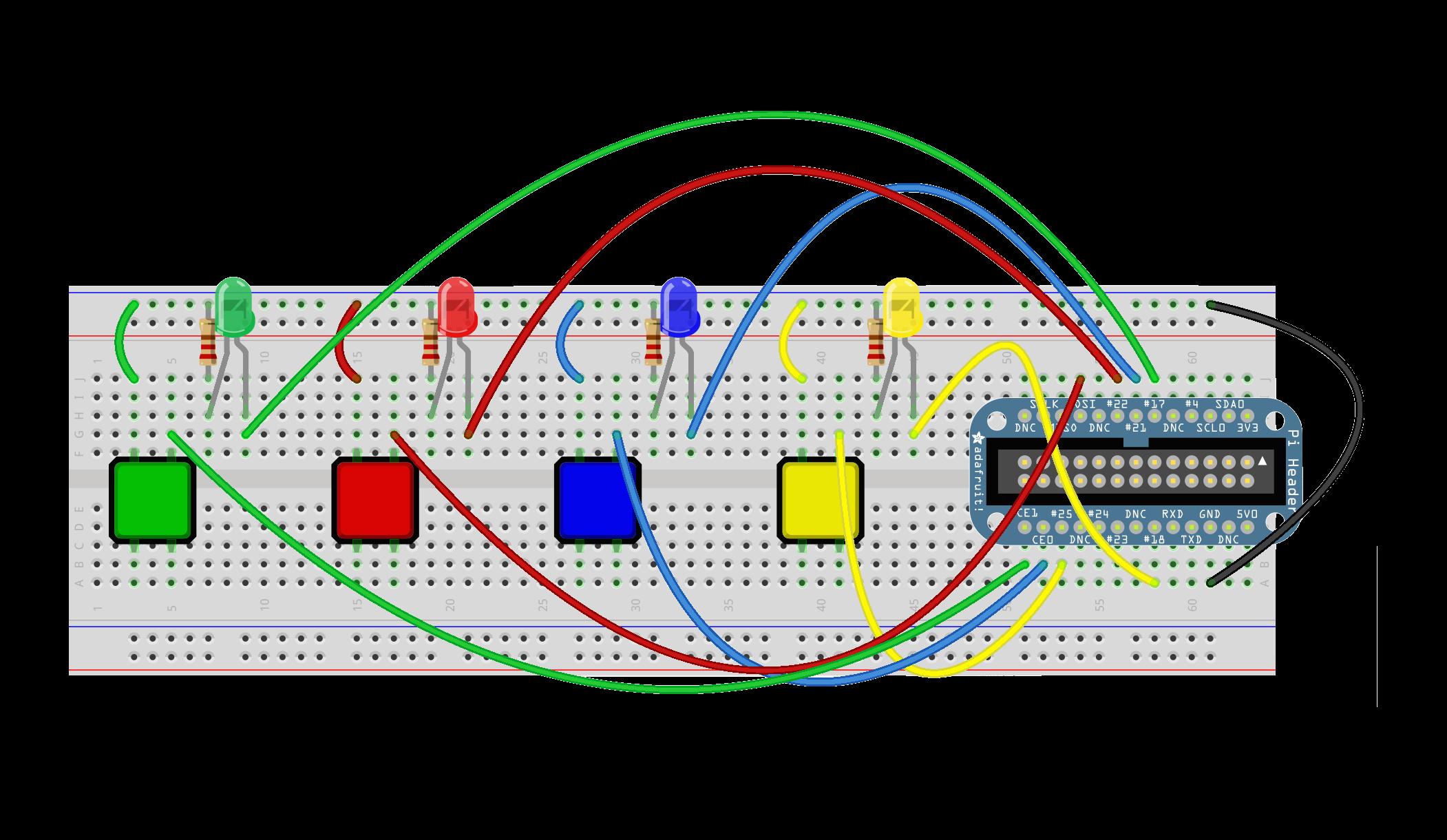 Building The Breadboard Fabcamp Simongpio20 Wiki Github A Circuit On Finished Board