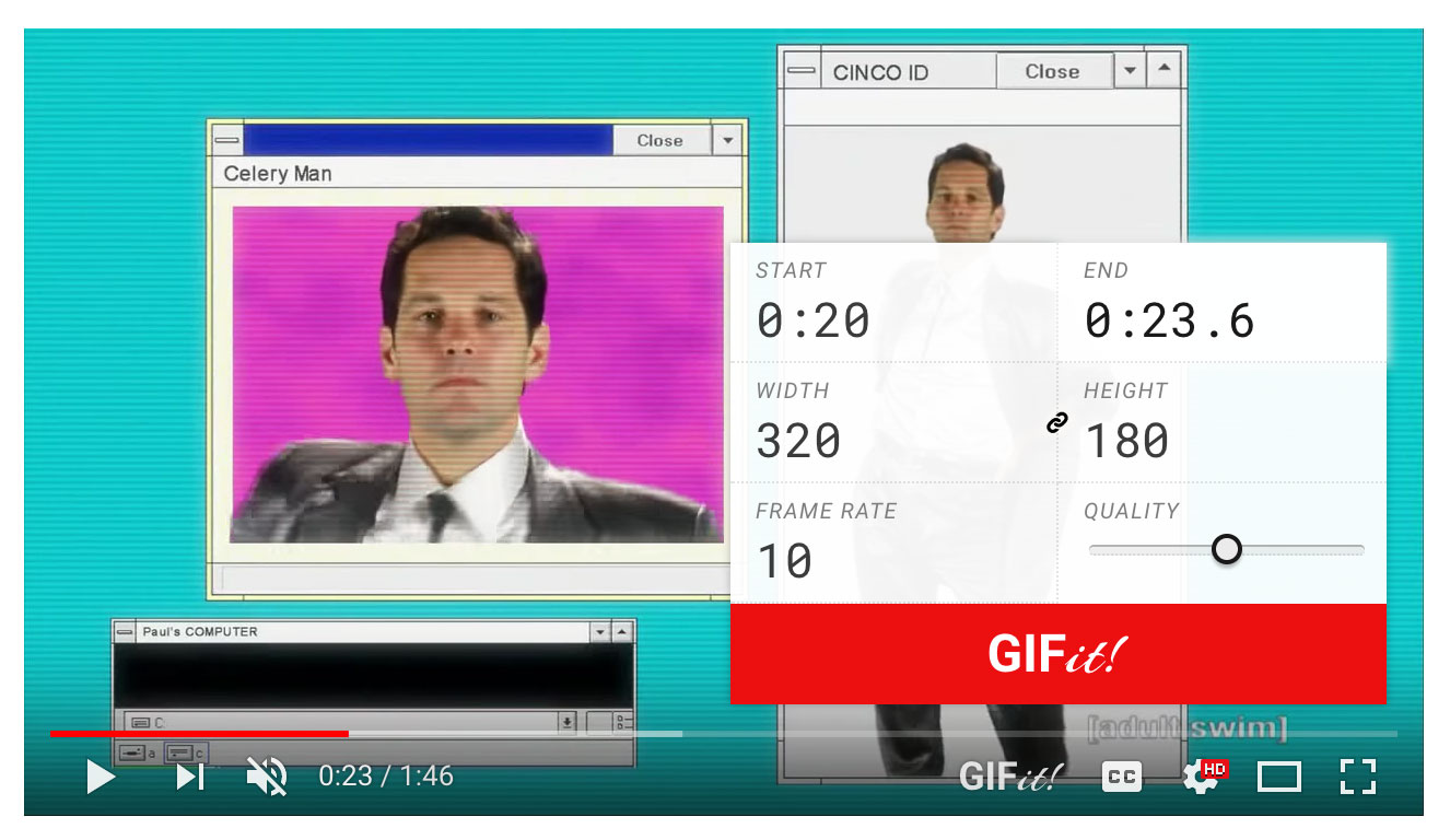 GIFit in action