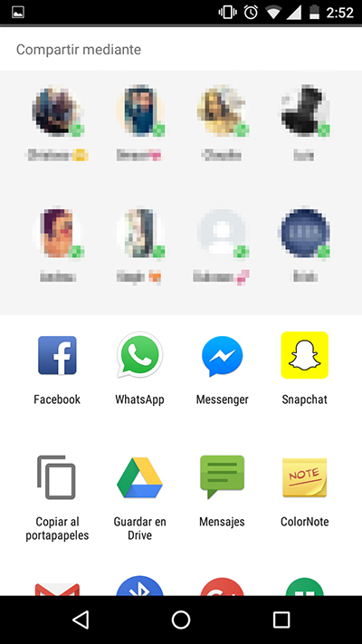 Web share - browser