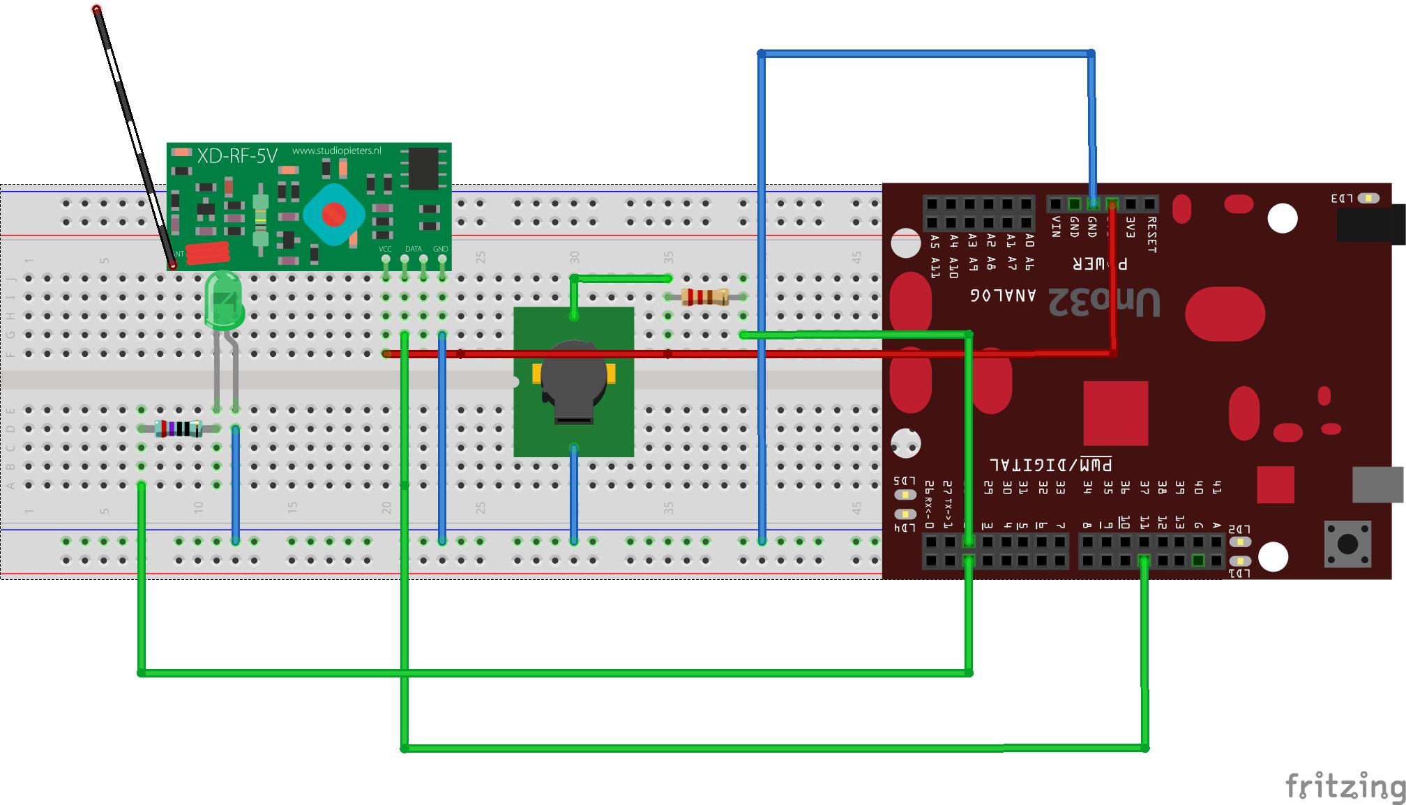 Github Filipabarros Rf 433mhz Morse Transmitter Circuit Diagram Schematics Receiver