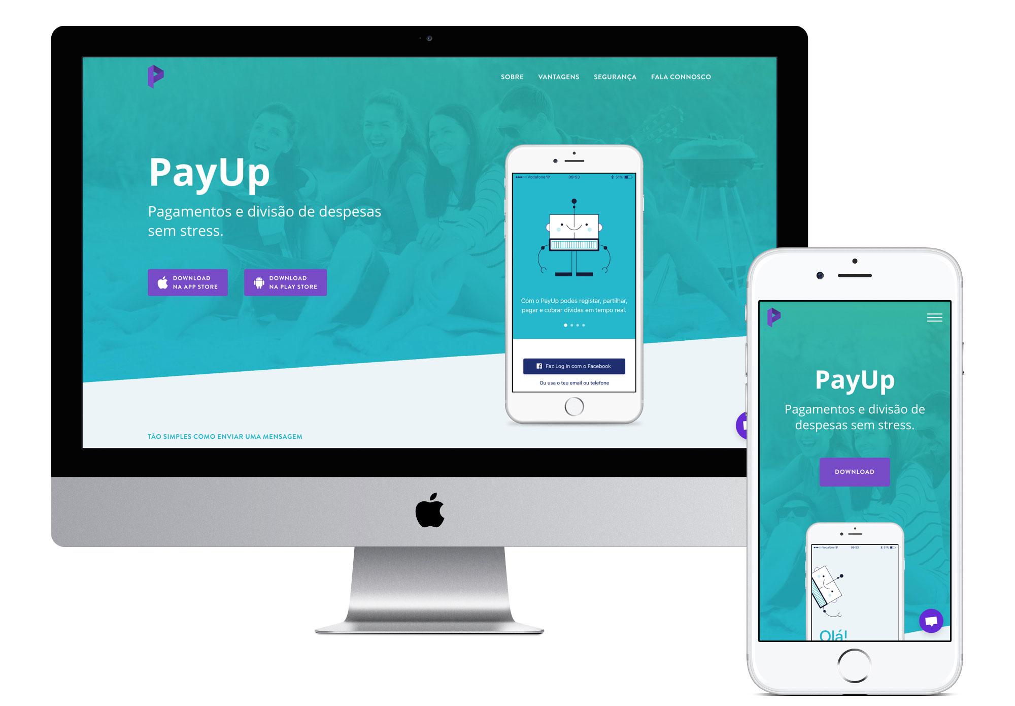 GitHub - FilipaGo/payup-desktop-site-prototype: 💶 PayUp App Landing