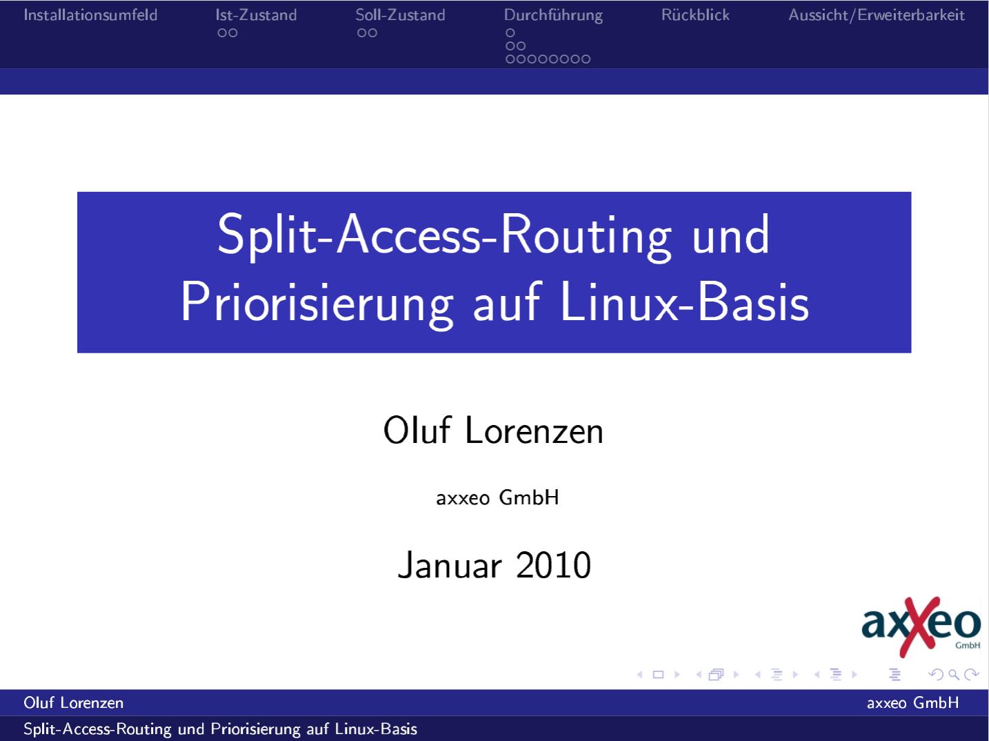 Screenshot of the slides